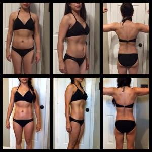 ana g bikini before and after